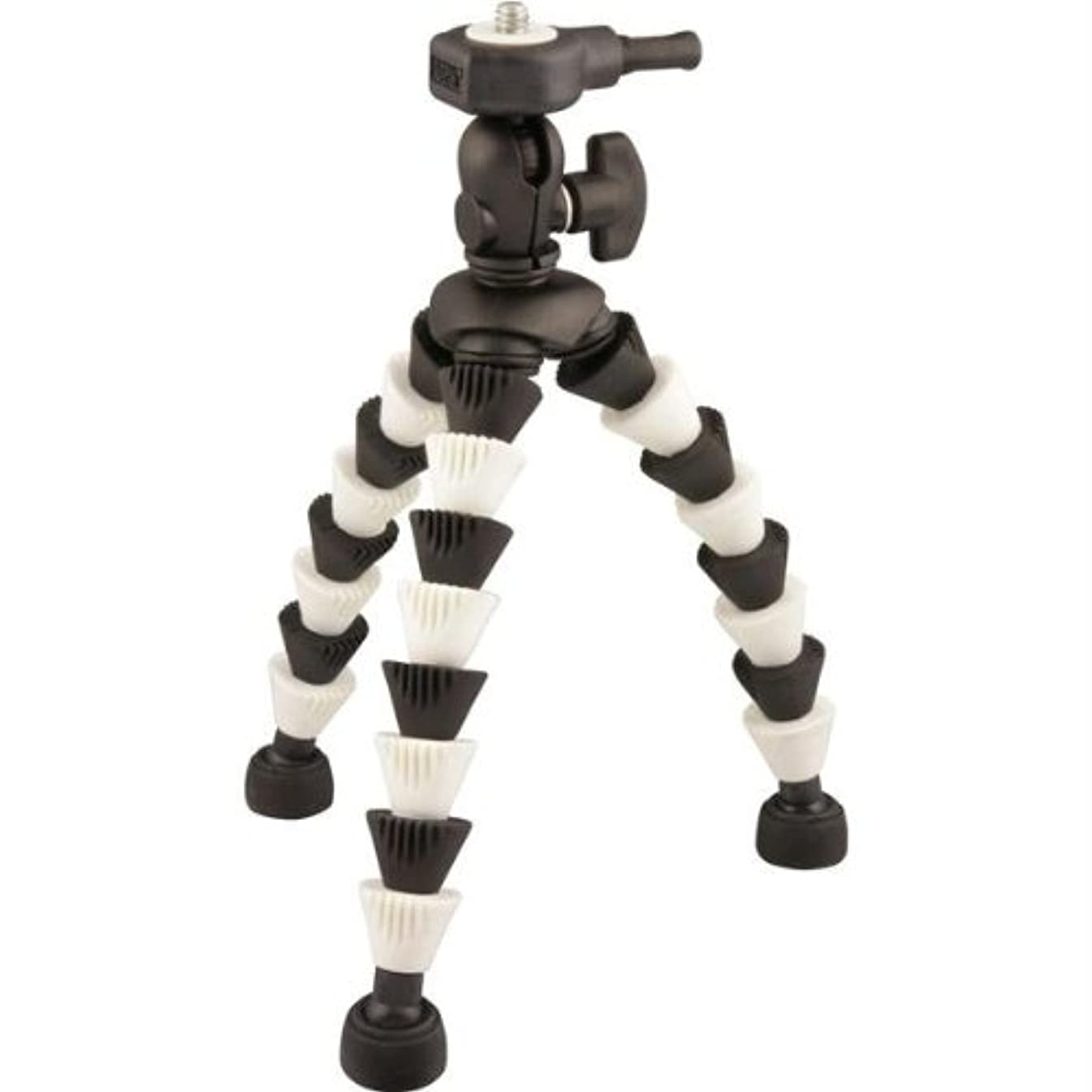 Black/White Flexpod Gripper Tripod With Ball Head Nique Aluminum Core Leg Design