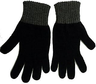 Gajraj Women's Woolen Hand Gloves (Coffee, Free Size)