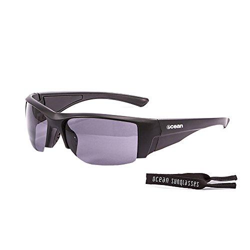 Ocean Sunglasses - Guadalupe - lunettes de soleil polarisées - Monture : Noir Mat - Verres : Fumée (3500.0)