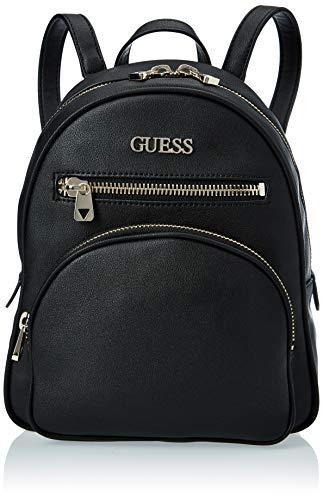 Guess New Vibe Backpack, Bolsos para Mujer, Negro, Talla única
