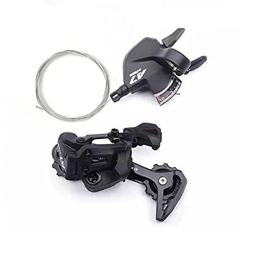 CNC Deragliatore Posteriore 10v,MTB Leve Cambio Bici 10 velocità per Shimano/Sram