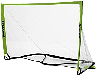 QUICKPLAY POP Goal - The Perfect Training Soccer Goal -10 Second Set-Up & Super Easy Pack Away in Slim Line Carry Bag [Sin...