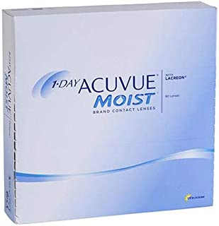 90 pcs of Contact Lenses (ACUVUE MOIST) D -2.00