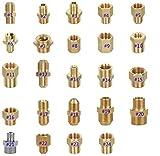 Generic Adaptateur pour raccord de tuyau avec filetage G et M en laiton mâle vers femelle pour nettoyeur à pression #10: Female M14 to male M22