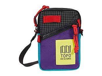 Topo Designs Mini Shoulder Bag Purple/Black Ripstop One Size