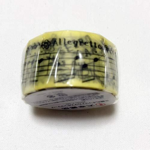 マスキングテープ 正露丸 セイロガン ラッパ 楽譜 音楽 ミュージック オリジナル シール テープ