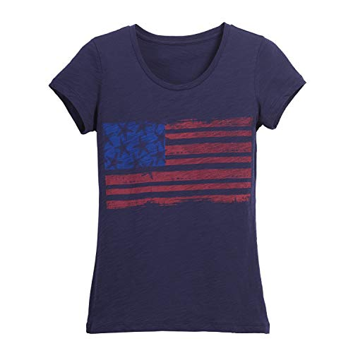 Beachcombers Starfish Flag Tee Small Blue T-shirt