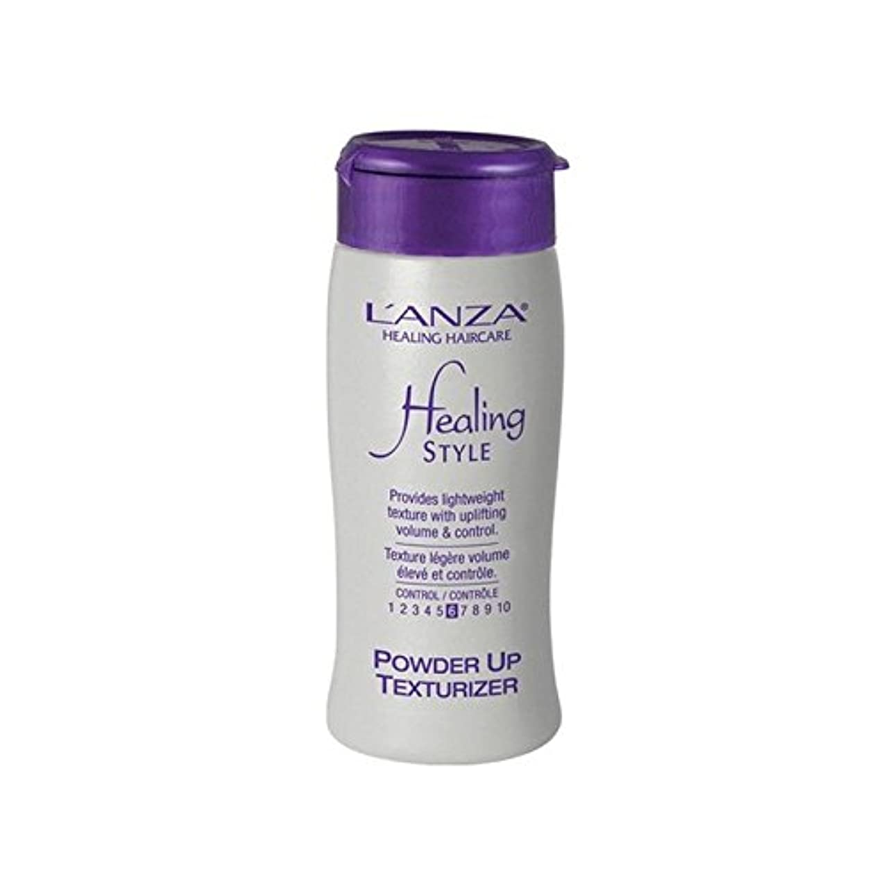 分泌する汚染された世代のアンザヒーリングスタイル粉末アップテクスチャライザー(15グラム) x4 - L'Anza Healing Style Powder Up Texturizer (15G) (Pack of 4) [並行輸入品]