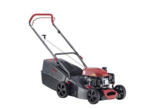 AL-KO Benzin-Rasenmäher Comfort 42.0 P-A (42 cm Schnittbreite, 1.9 kW Motorleistung, Robustes Stahlblechgehäuse, für Rasenflächen bis 800 m²)