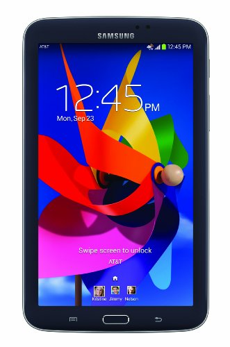 Samsung Galaxy Tab 3 7.0 T217A 16GB AT&T GSM 4G LTE Dual-Core Tablet PC - Black