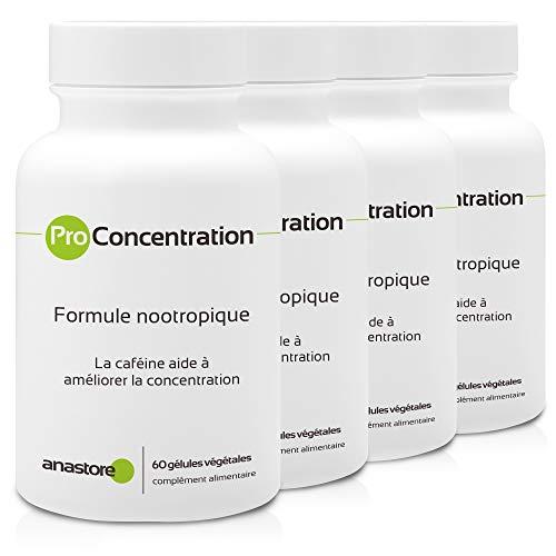 Nootrópico con extracto titulado de ProConcentración