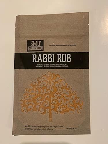 Rabbi Rub Attention brand Texas BBQ OFFer seasoning dry rub