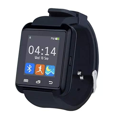 Bluetooth Smart Watch, U8 Smartwatch for Android Smartphones - Black