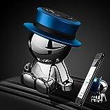 aokway 車載スマホホルダーダッシュボードクリップ携帯ホルダーiphone スタンド可愛360度回転|創意プレゼント (ブルー)
