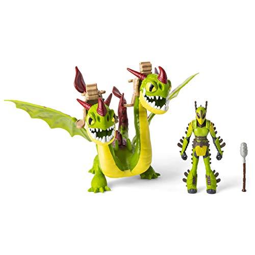 Dragons, Vomito e Rutto e Testabruta, 1 Drago a due teste e 1 Vichingo Armato, dai 4 Anni