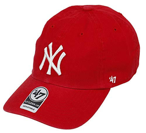 47AA5|#´47 47 New York Yankees Adjustable Cap Clean Up MLB Red - One-Size