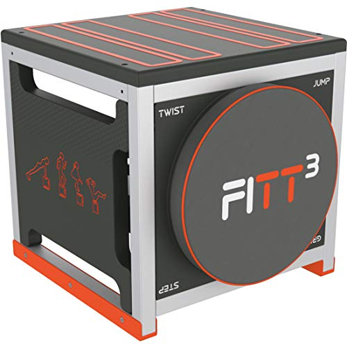 New Image Unisex's FITT Cube Total Body Workout, High Intensity Interval Training Machine,...