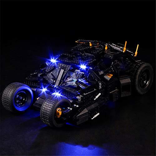 N-brand Kit De Iluminación LED para El Juego De Vasos, Compatible con El Modelo De Bloques De Construcción Lego 76023 (Solo LED Incluido, Sin Modelo)