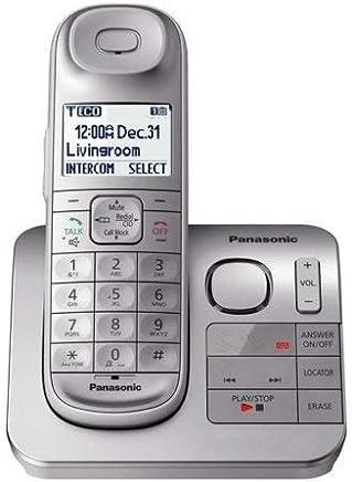 Panasonic Teléfono Inalámbrico con Contestadora De Llamadas (Reacondicionado/Renewed)