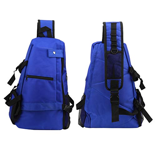 Accesorio de Ejercicio Duradero Bolsa de Fitness Tela Oxford Práctica para Deportes(Azul)