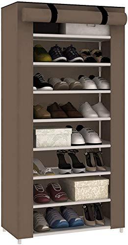 ZXCN Zapatero de Gran Capacidad a Prueba de Polvo para 27 Pares Organizador de Almacenamiento de Zapatos