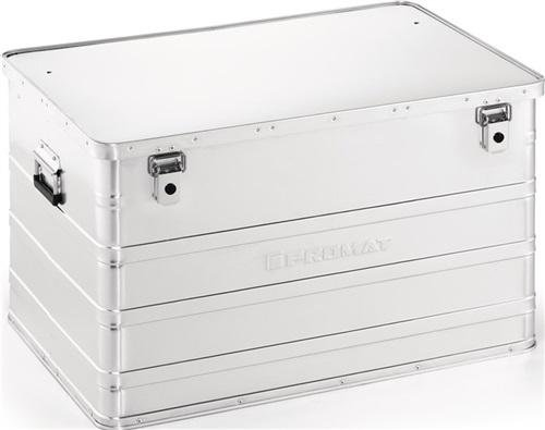 Unbekannt Aluminiumbox Alubox Lagerkiste Transportkiste Transportbox extra stabil und Robust (184 Liter)