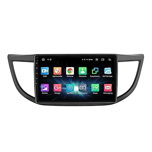 Android 10.0 Radio De Coche con Pantalla Táctil HD De 10.2 Pulgadas Soporte Llamadas Manos Libres Car Radio FM Bluetooth WiFi Cámara Trasera, para Honda CRV 2012-2016,Quad Core,WiFi 1+32