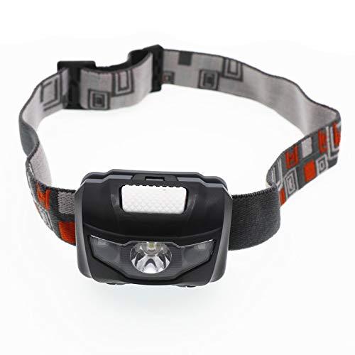 Linterna frontal LED mini, 4 modos, portátil, linterna de bolsillo para senderismo, camping, pesca, equitación, ciclismo