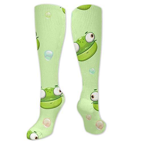 Unisex High Length Tube Socks, Funny Childish Compression Socks Boost Stamina.Size 8,5 * 50 cm