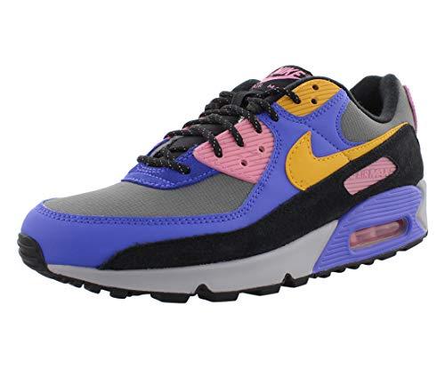 Nike Air Max 90 Qs Cn1080-500 - Zapatillas de correr para hombre, Violeta persa/Polen Rise, 12 US