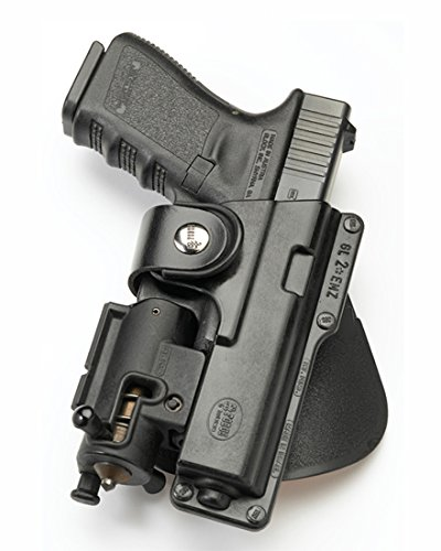 Fobus Tatical concealed carry 5cm Police Wide Belt ROTO Rotating Left Hand Tactical Holster for Glock 17, 22 / Smith&Wesson S&W Sigma 40VE Walther P99Q