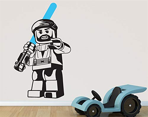 Wandtattoo Kinderzimmer Wandtattoo Wohnzimmer Obi Wan Kenobi Star Wars Kunst Wandtattoo Aufkleber Abnehmbare Vinyl Schablone Wandbild Home Room Decor