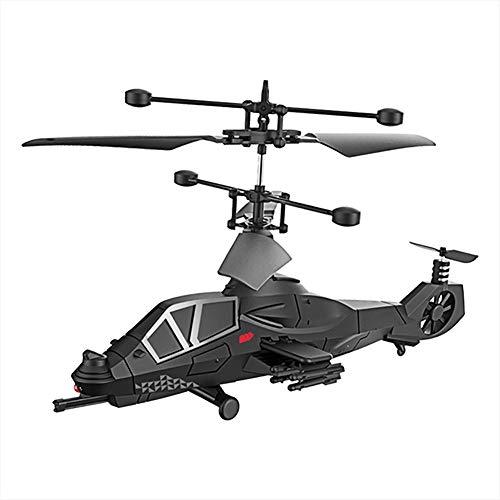 Afstandsbediening Drone Militair Gevecht Super Cool 3,5-kanaals Afstandsbediening Oorlogsvliegtuigen Model Afstandsbediening Drone Helikopter Quadcopter Toy Kid,A