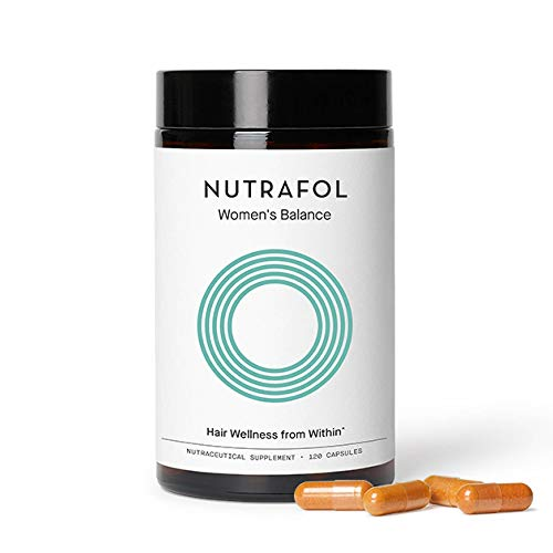 Nutrafol Women's Balance Hair Growth Supplement for Thicker, Stronger Hair Through Menopause (4 Capsules Per Day - 1 Month Supply)