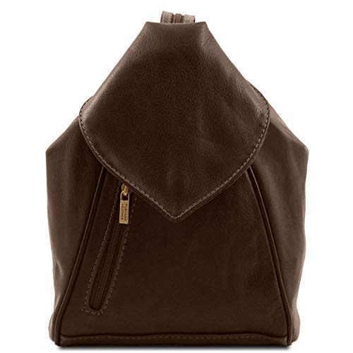 Tuscany Leather DELHI Zaino in pelle morbida Testa di Moro - TL140962/5