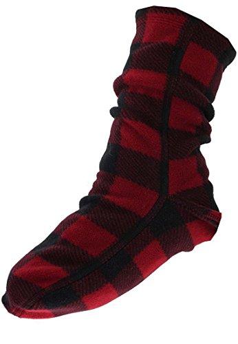 Polar Feet Lumberjack, Kinder Fleece Socke, XS