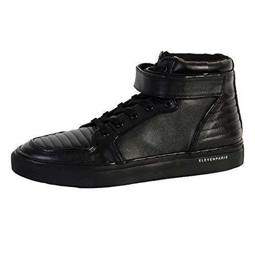 Eleven Paris Cross, Sneakers Hautes Homme, Noir (Black), 40