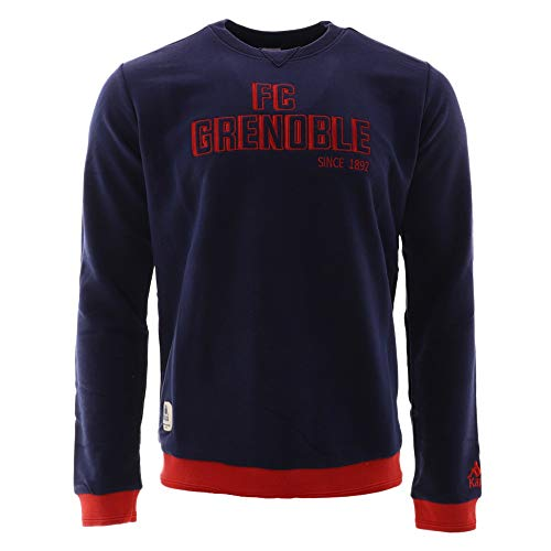 FC Grenoble 16/17 L/S Rugby Sweater - Blue Navy/Red - size 3XL