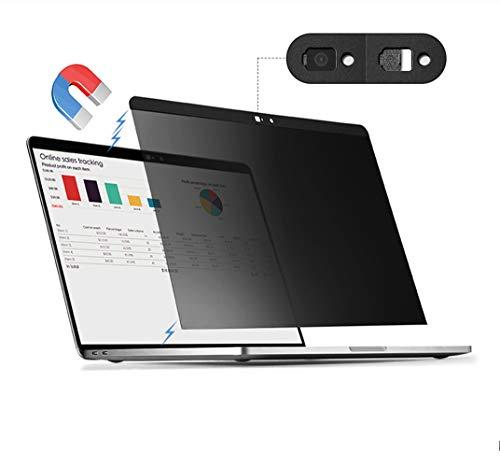 HMY・Guard!MacBook Pro13(2016~2020モデル) Macbook Air13(2018以降モデル) マグネット式 プライバシーフィルム 覗き見防止フィルター ブルーライトカット アンチグレア カメラシャッター付き 【Macbook 13インチ対応】
