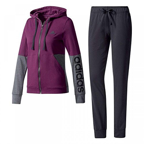 Adidas Women Tracksuit Marker Hoodie Training Gym Workout Running BS2606 New (M)