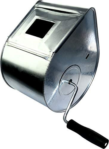 AERZETIX - Máquina Tirolesa - Proyector de Revestimiento de pared manual - Máquina de yeso - Pulverización de yeso contra la fachada - Yeso tirolés - Paleta/Artesa/Cubeta/Mezclador - C45887
