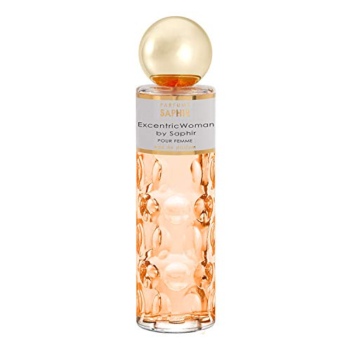 PARFUMS SAPHIR Excentric Woman, Eau de Parfum con vaporizador para mujer, 200 ml