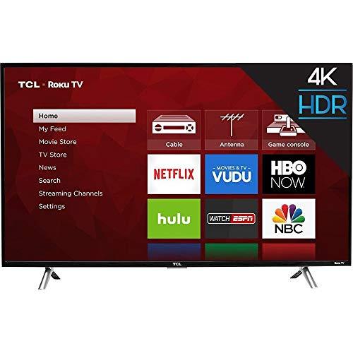 TCL 43S403 43in 4K UHD HDRa Roku Smart LED TV (Renewed)