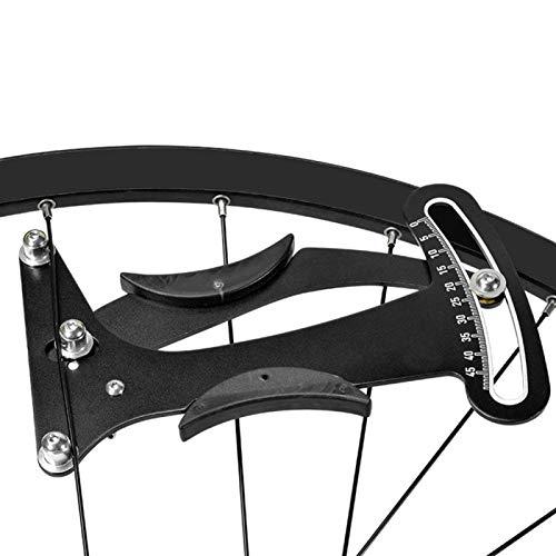 FOLOSAFENAR Equipo de Ciclismo confiable Tensiómetro de radios de Bicicleta de montaña, para Varias Ruedas terminadas(Spoke tensiometer)