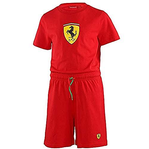 Ferrari Juego De Pijama Talla 4 Años