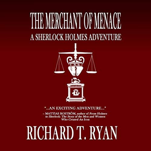 The Merchant of Menace: A Sherlock Holmes Adventure audiobook cover art