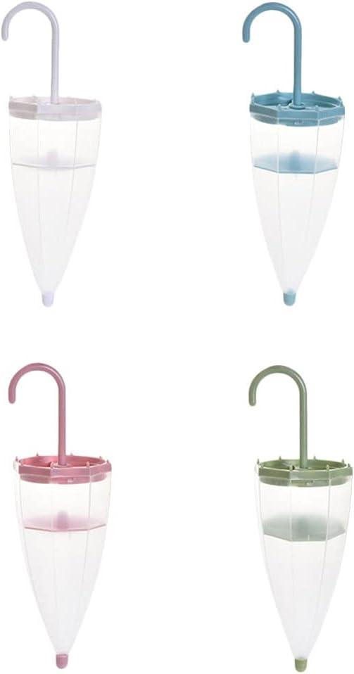 DOITOOL 4pcs Umbrella Shaped Super Special SALE held Reusable Wa Rapid rise Closet Dehumidifier Box