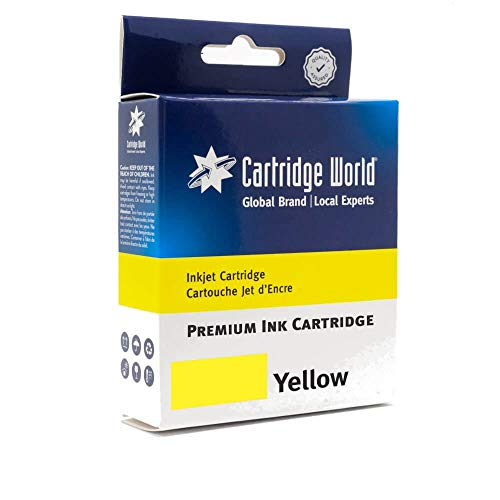 Cartridge World - Cartucho de Tinta Compatible con HP 913A, Color Amarillo