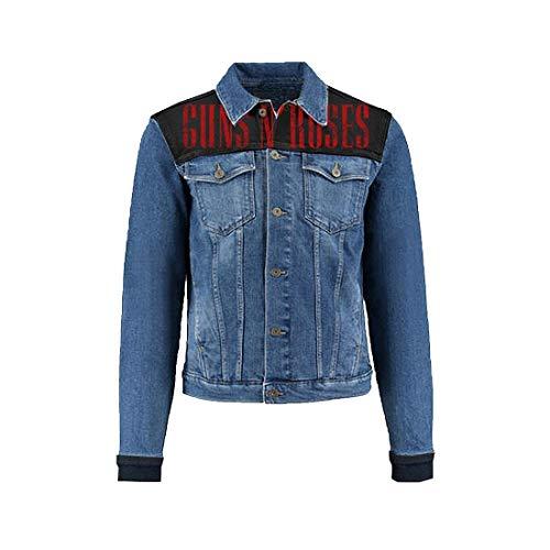 Guns N'Roses Bullet Logo Denim Jacket