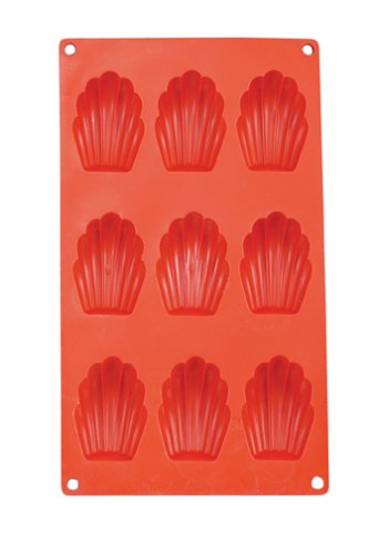 Mrs Anderson's Baking Silicone Madeleine Pan by HIC Harold Import Co.